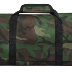 Messermeister 12-Pocket Padded Knife Roll, Camouflage
