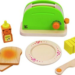 Hape - Playfully Delicious - Pop-Up Toaster - Play Set