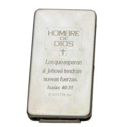"Money Clip ""Inspirational Multi Purpose"" - Spanish [Hombre De Dios ]"