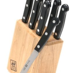 Zwilling J.A. Henckels Twin Gourmet 9-Piece High-Carbon Stainless-Steel Gourmet Steak Knives With Block