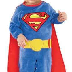 Superman Romper With Removable Cape Superman, Superman Print, 6-12 Months
