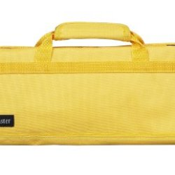 Messermeister 8 Pocket Knife Roll, Yellow