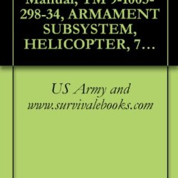 Us Army Technical Manual, Tm 9-1005-298-34, Armament Subsystem, Helicopter, 7.62 Millimeter, Machine Gun: High Rate, Xm27E1 (1005-933-6242) (Used On Oh-6A Helicopters), 1969