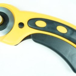 New 45Mm Rotary Cutter Utility Knife Blade Safety Lock