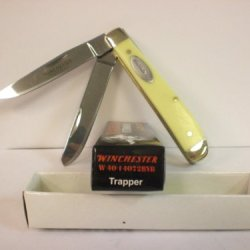 Winchester Outdoorsman Trapper Knife W 40 14072Byb New In Box