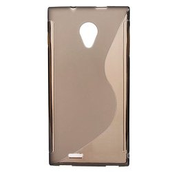 Slim Tpu Gel Rubber Soft Skin Silicone Case Cover For Doogee Dagger Dg550 Mtk6592 5 Inch (Gray)