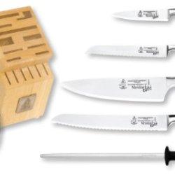 Messermeister Meridian Elite 7-Piece Knife Block Set
