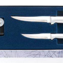 Rada Cutlery S36 Paring Pair Plus Sharpener Knife Gift Set