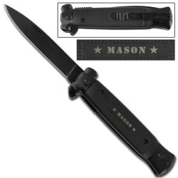 Striker Spring Assisted Knife - Masonic