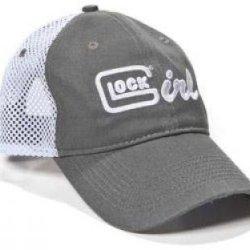 Glock Girl Hat Grey W/Lavender