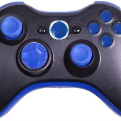 Cc Mega Mod: Drop Shot, Adjustable Rapid Fire, Jitter, Fast Reload, Auto Aim Zombies, + More - Xbox 360 Modded Controller Cod, Black Ops 2, Rapid Fire (Black/Dark Blue)