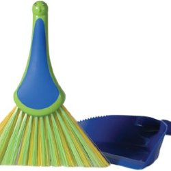 Boston Warehouse Peacock Dustpan And Brush Set