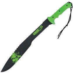 United Cutlery Bv117 Black Legion Undead Kukri Machete, Green