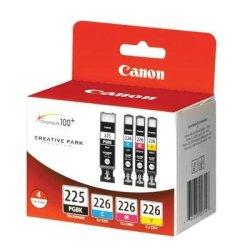 Canon Computer Systems Pgi225Bk/Cli226C,M,Y Value Pk