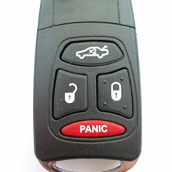 3+1 Panic Button Flip Key Case Upgrade For Chrysler/ Dodge/ Jeep Remote Key Fob