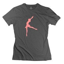 Women Ballet Dancer Line Art T Shirt - Nice Design Deepheather T Shirt