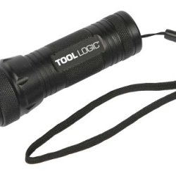 Tool Logic Led-102 Mini Led Flashlight With High, Low, Strobe, Small