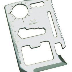 Credit Card Sized Multitool - Stainless Steel - Men & Women - Lifetime Guarantee