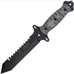 Tops Surv-Tac 7 Survival Combat Knife Rocky Mountain Tread By Joseph Teti Stac-7Rmt