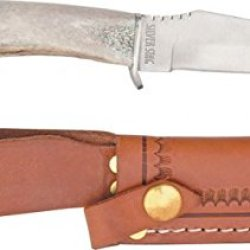 Silver Stag Deer Skinner Fixed Knife Ds4.5