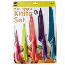 Wholesale Set Of 2, 5 Piece Colorful Multi-Purpose Knife Set (Kitchen & Dining, Cutlery)