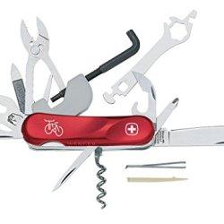 Wenger 16948 Swiss Army Evolution Biker 37 Pocket Knife, Red
