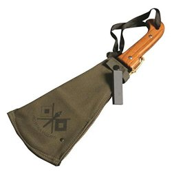 Woodman'S Pal Classic Machete With Canvas Sheath, Made In Usa