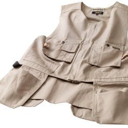 Blaklader Workwear Bantam Kangaroo Vest, Medium - 8-Ounce Cotton - Stone