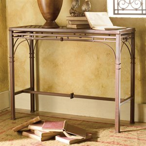 Image of Bago Luma Neoclassic Iron Console Table WTSC45 (WTSC45)