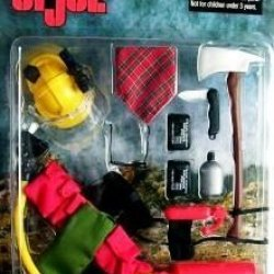 "Gi Joe ""Adventures"" Smoke Jumper Set 1999 Brand New On Card"