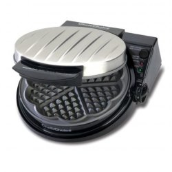 Chefschoice Chefs Choice Model 830Se Waffle Pro - Five Of Hearts, Silver