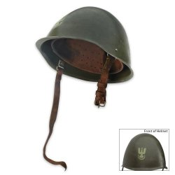 Polish Steel Helmet Used