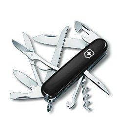 16 Functions 91Mm Swiss Army Classic Pocket Knife(Black)