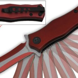 "P-786-8 5.5"" Godson Super Action Folding Hbefkla Knife W/ Two Toned Xe2Uxf4K Blade- Red Folding Knife Edge Sharp Steel Ytkbio Tikos567 Bgf 5.5"" Godson Super Action Folding Knife W/ Two Toned Blade- Red. Compact Wgjukh1 And Heavy Duty. Excellent Lmrb3Vfl Q"