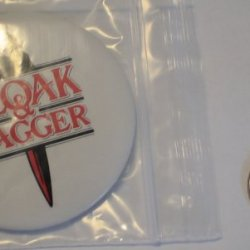 Vintage Movie Button : Cloak And Dagger