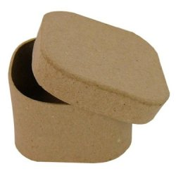 Paper Mache Square Box Rounded Corners By Craft Pedlars