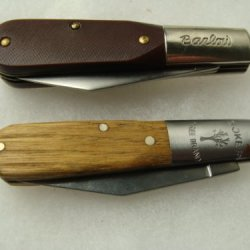 Vintage Mint Barlow +Boker Pocketknife Folding Knife,Antique Knives For Camping,Hunting,Fishing