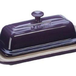 Le Creuset Stoneware Butter Dish, Cassis