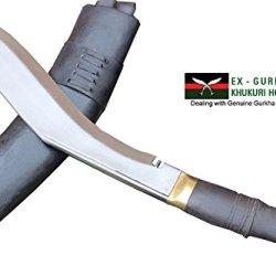 "Genuine Hand Forged Khukuri - 13"" Blade Jungle Or Pri Type British Gurkha Kukri, Authentic Khukris Knife Handmade By Egkh In Nepal"