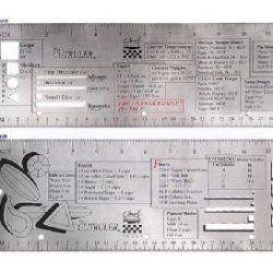 Mercer Tool M33241 Two Sided Measurement Ruler With Guidelines
