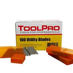 Toolpro Premium Utility Blades, 100 Ct