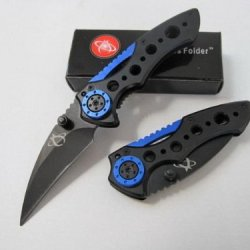 Pocket Knife Folding - Luxury Black Knife Stainless Steel Folding Knife - Outdoor Tool Kit Limited For Collectible!!!