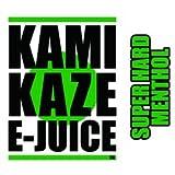 【純国産】KAMIKAZE E-JUICE 15ml 電子タバコ VAPE用リキッドジュース (SUPER HERD MENTHOL:スーパーハードメンソール, 15ml)