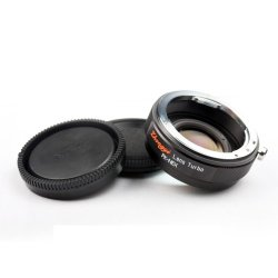Focal Reducer Mount Adapter For Pentax K Pk Bayonet Lens To Sony Nex Mount 5 6 7 Camera