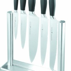 Felix Platinum 6-Piece Stainless Steel Knife Block Set