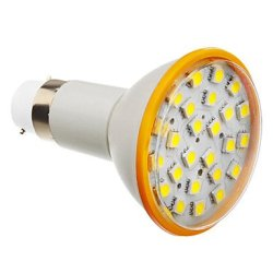 6 W B22 X5050Smd 25 450-500 Lm 6000 K Cold White Led Bulb Sizes (200-240 - V)