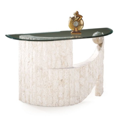 Image of Ponte Verde Demilune Console Table (MHF057-PID86382)