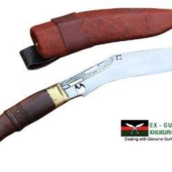 "Genuine Gurkha Hand Forged Kukri - 5"" Blade Cheetlange Khukuri - Handmade By Ex Gurkha Khukuri House In Nepal"