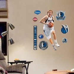 (23X39) Dirk Nowitzki - 407 Junior Wall Decal