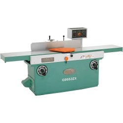 Grizzly G9953Zx Z Series Jointer With Spiral Cutterhead, 16-Inch